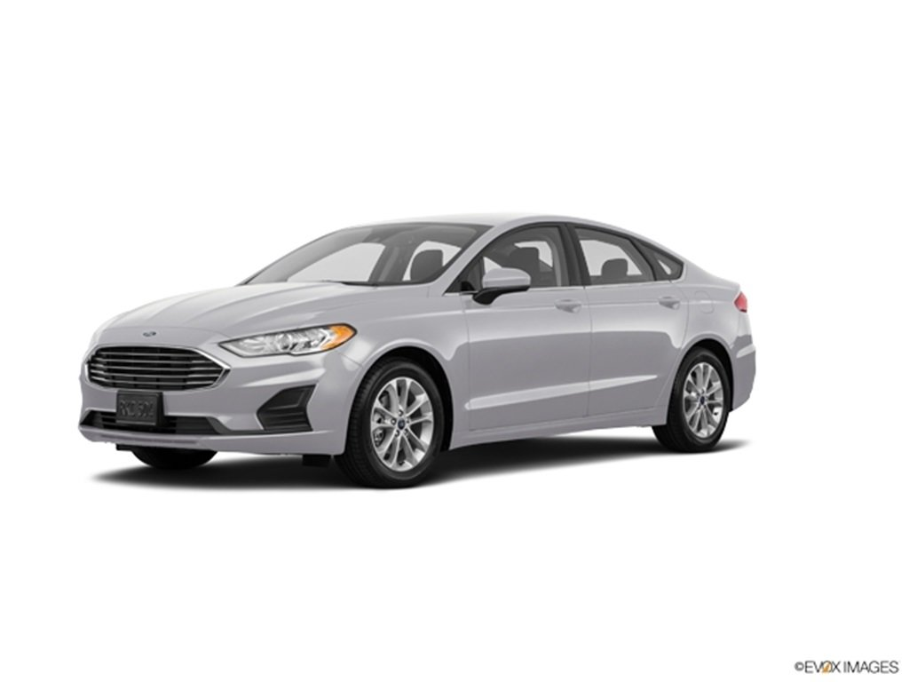 2020 Ford Fusion SE EcoBoost 1.5L I4 GTDi DOHC Turbocharged VCT Engine 4 Door Automatic FWD Sedan