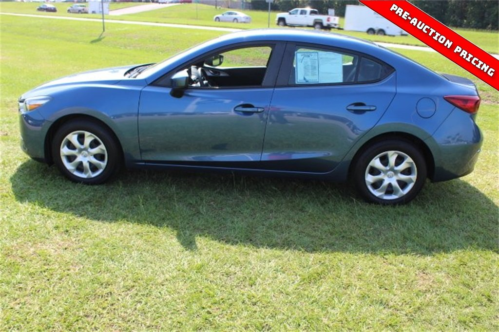 2017 Eternal Blue Mazda Mazda3 Sport FWD 4 Door Sedan Automatic