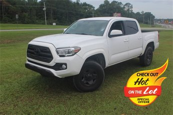 2016 Super White Toyota Tacoma SR5 V6 Engine Automatic Truck 4 Door RWD