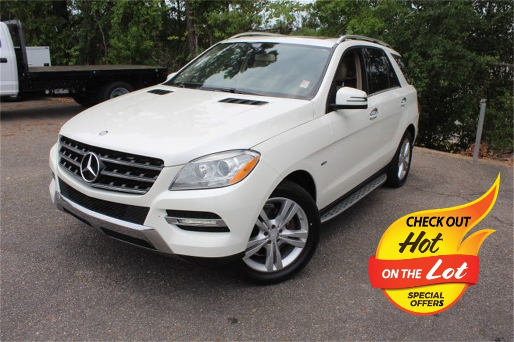 Used 2012 Mercedes Benz M Class Ml 350 Awd Suv For Sale In Dothan Al