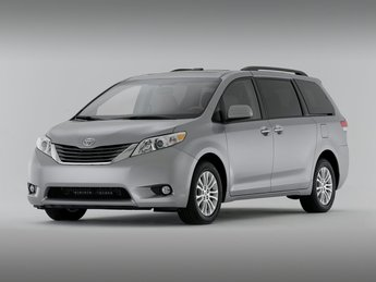 2011 Predawn Gray Mica Toyota Sienna Base Crossover 4 Door Automatic 3.5L V6 SMPI DOHC Engine FWD