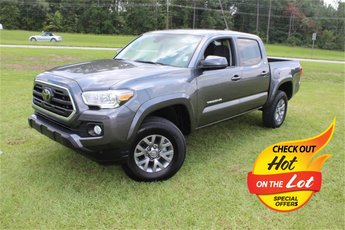2019 Magnetic Gray Metallic Toyota Tacoma SR5 RWD Automatic V6 Engine 4 Door Truck