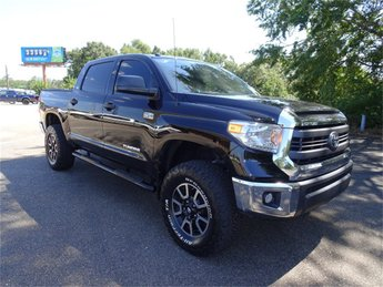 2014 Toyota Tundra SR5 i-Force 5.7L V8 Flex Fuel DOHC 32V LEV Engine Automatic 4 Door Truck
