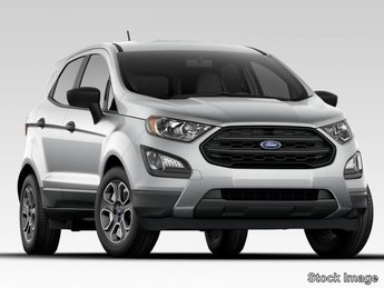 2020 Ford EcoSport S 4 Door Automatic FWD