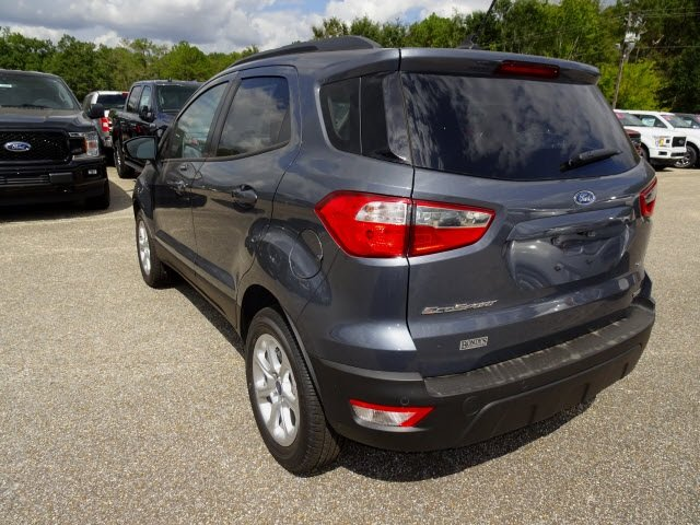 2019 Smoke Metallic Ford EcoSport SE EcoBoost 1.0L I3 GTDi DOHC Turbocharged VCT Engine FWD Automatic SUV