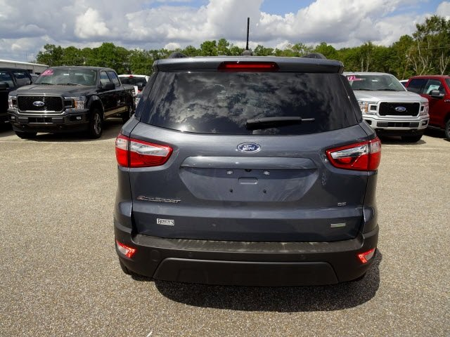 2019 Ford EcoSport SE EcoBoost 1.0L I3 GTDi DOHC Turbocharged VCT Engine FWD Automatic SUV 4 Door