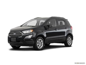 2019 Ford EcoSport SE EcoBoost 1.0L I3 GTDi DOHC Turbocharged VCT Engine FWD 4 Door Automatic