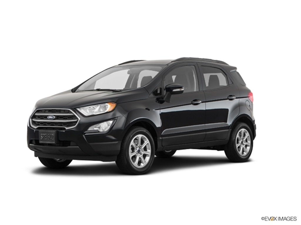 2019 Shadow Black Ford EcoSport SE Automatic FWD 4 Door