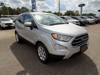 2019 Silver Metallic Ford EcoSport SE EcoBoost 1.0L I3 GTDi DOHC Turbocharged VCT Engine SUV Automatic 4 Door FWD