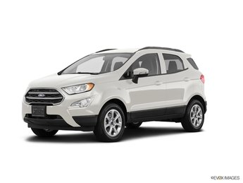 2019 Diamond White Ford EcoSport SE EcoBoost 1.0L I3 GTDi DOHC Turbocharged VCT Engine FWD 4 Door Automatic