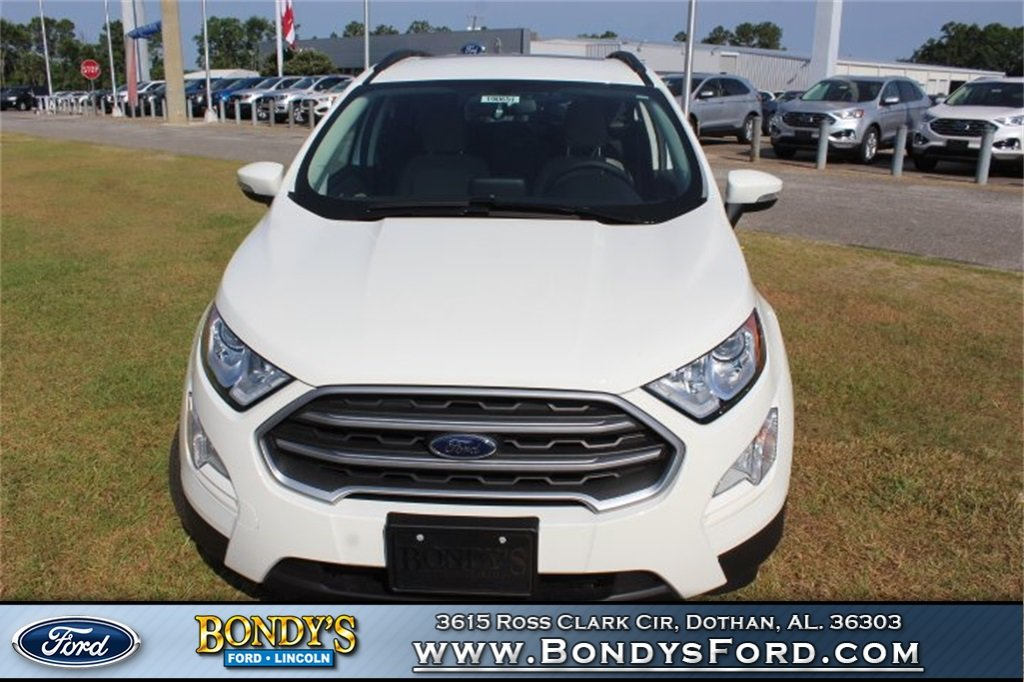 2019 Ford EcoSport SE SUV Automatic EcoBoost 1.0L I3 GTDi DOHC Turbocharged VCT Engine 4 Door