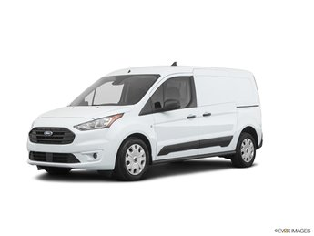 2020 Frozen White Ford Transit Connect XLT Van Automatic 4 Door I4 Engine FWD