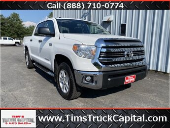 2016 Super White Toyota Tundra SR5 i-Force 5.7L V8 DOHC 32V LEV Engine 4X4 4 Door Truck