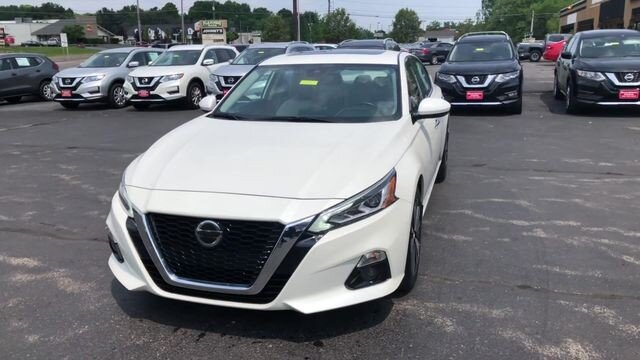 2019 Nissan Altima 2.5 SV AWD Sedan 2.5L 4-Cyl Engine