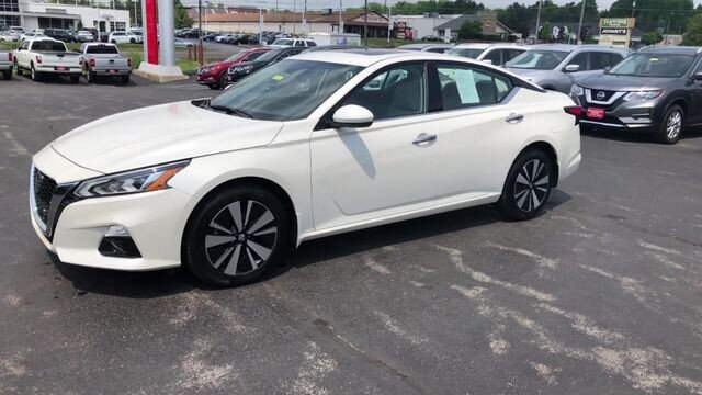 2019 Nissan Altima 2.5 SV Sedan 4 Door 2.5L 4-Cyl Engine AWD