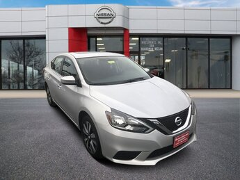 2019 Brilliant Silver Metallic Nissan Sentra SV Automatic (CVT) Sedan 1.8L 4-Cylinder Engine