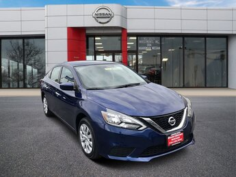 2019 Deep Blue Pearl Nissan Sentra S FWD Sedan 4 Door