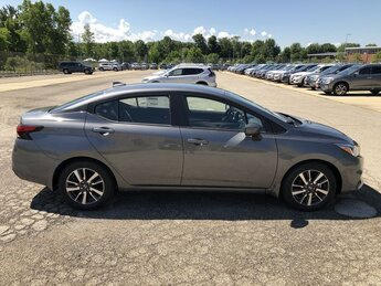 2020 GRAY Nissan Versa SV 1.6L 4-Cyl Engine Automatic 4 Door Sedan FWD