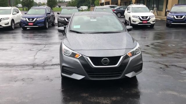 2020 KAD GUN METALLIC Nissan Versa SV Automatic Sedan 4 Door