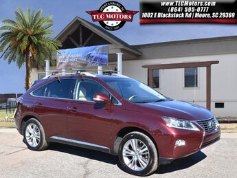 2015 Red Lexus RX 450h FWD 4 Door SUV Automatic (CVT) 3.5L V6 DOHC VVT-i 24V Engine
