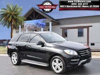 2015 Black Mercedes-Benz M-Class ML 250 BlueTEC SUV 4 Door AWD Automatic BlueTEC® 2.1L I4 DOHC Turbodiesel Engine