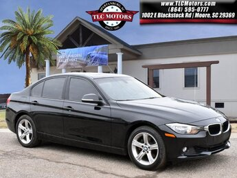 2015 BMW 3 Series 328i 2.0L 4-Cylinder DOHC 16V Turbocharged Engine 4 Door RWD Automatic