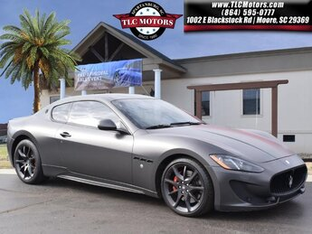 2013 Black Maserati GranTurismo Sport Automatic 2 Door 4.7L V8 SMPI DOHC Engine Car RWD