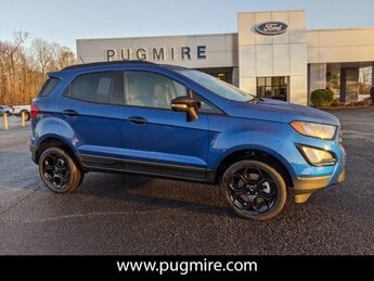 2021 Lightning Blue Metallic Ford EcoSport SES 4WD SUV AWD 4 Door Automatic