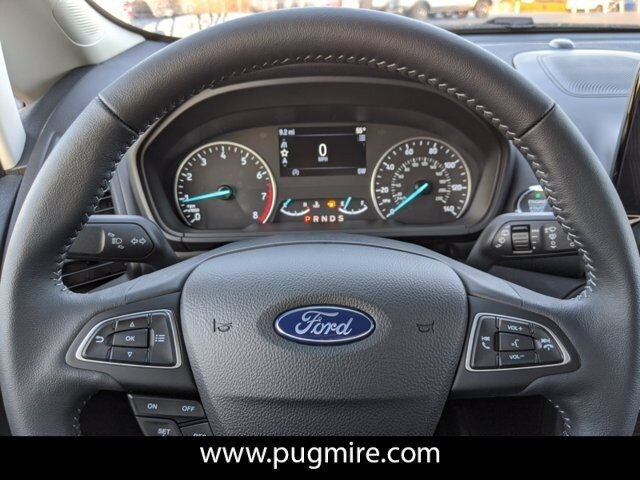 2021 Lightning Blue Metallic Ford EcoSport SES 4WD Automatic 4 Door 2.0L 4-Cyl Engine