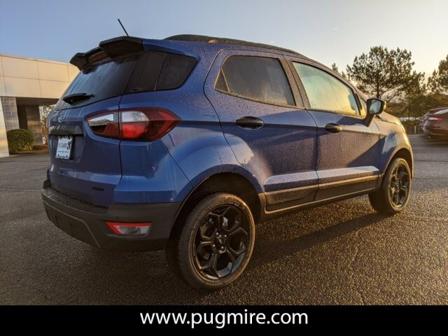 2021 Lightning Blue Metallic Ford EcoSport SES 4WD 2.0L 4-Cyl Engine 4 Door SUV Automatic