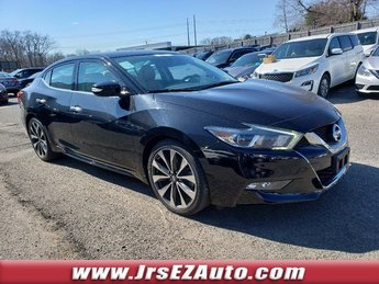 2016 Super Black Nissan Maxima 3.5 SR Sedan 4 Door Premium Unleaded V-6 3.5 L/213 Engine FWD Automatic (CVT)