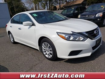 2016 Glacier White Nissan Altima 2.5 S Sedan Automatic (CVT) 4 Door