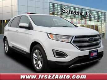2015 Oxford White Ford Edge SEL 4 Door Automatic Intercooled Turbo Premium Unleaded I-4 2.0 L/122 Engine