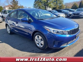 2018 Deep Sea Blue Kia Forte LX Sedan Automatic Regular Unleaded I-4 2.0 L/122 Engine FWD 4 Door