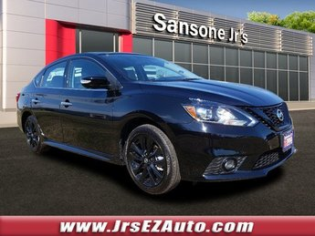 2018 Nissan Sentra SR Regular Unleaded I-4 1.8 L/110 Engine Sedan 4 Door FWD
