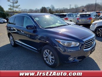 2015 Hermosa Blue Infiniti QX60 Base Automatic (CVT) 4 Door AWD SUV