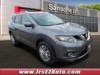 2015 Gun Metallic Nissan Rogue SL Regular Unleaded I-4 2.5 L/152 Engine Automatic (CVT) 4 Door AWD SUV