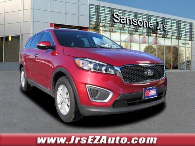 2016 Remington Red Kia Sorento LX SUV Automatic AWD 4 Door Regular Unleaded I-4 2.4 L/144 Engine