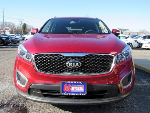 2016 Remington Red Kia Sorento LX Automatic AWD Regular Unleaded I-4 2.4 L/144 Engine