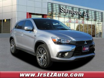 2017 Cool Silver Metallic Mitsubishi Outlander Sport LE 2.0 FWD Regular Unleaded I-4 2.0 L/122 Engine SUV 4 Door