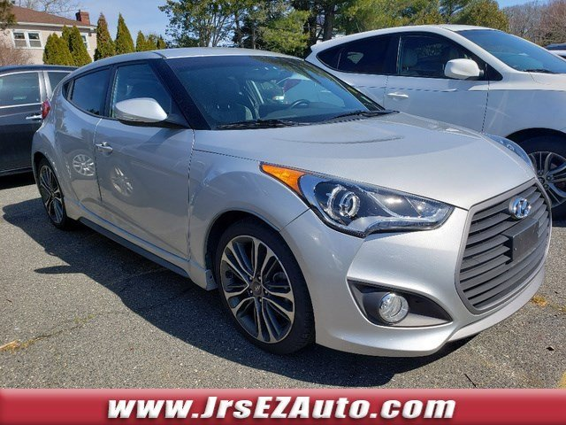 2016 Ironman Silver Hyundai Veloster Turbo Automatic FWD 3 Door Intercooled Turbo Regular Unleaded I-4 1.6 L/97 Engine Hatchback