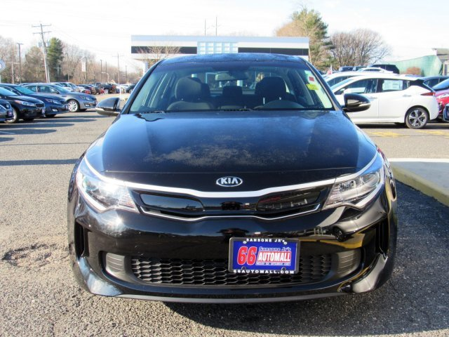 2017 Aurora Black Kia Optima Hybrid Base 4 Door FWD Gas/Electric I-4 2.0 L/122 Engine