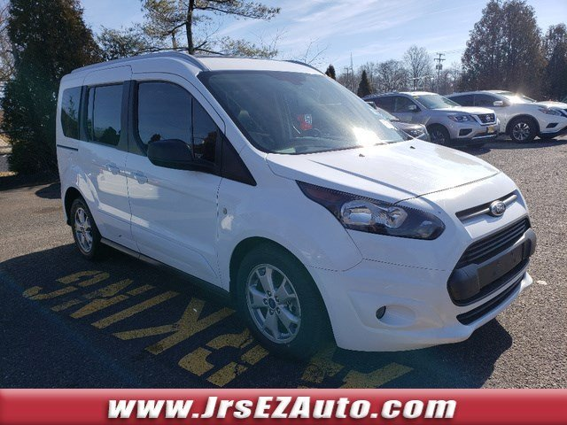 2015 Frozen White Ford Transit Connect Wagon XLT Regular Unleaded I-4 2.5 L/152 Engine Van FWD 4 Door