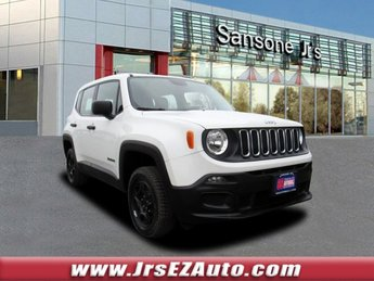 2015 Alpine White Jeep Renegade Sport Manual 4X4 Intercooled Turbo Premium Unleaded I-4 1.4 L/83 Engine