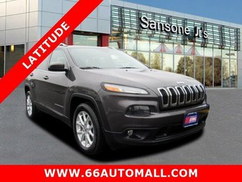 2015 Jeep Cherokee Latitude 4 Door Automatic Regular Unleaded V-6 3.2 L/198 Engine SUV