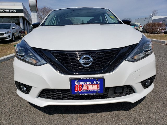 2018 Aspen White Nissan Sentra SR Regular Unleaded I-4 1.8 L/110 Engine FWD 4 Door