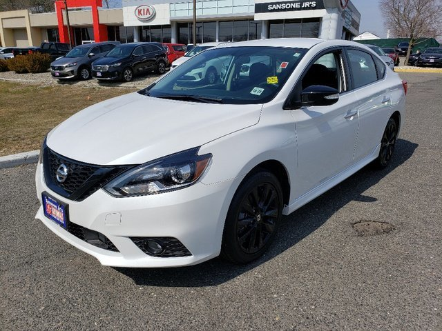 2018 Nissan Sentra SR Automatic (CVT) Sedan FWD 4 Door