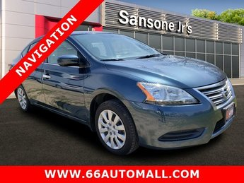 2015 Nissan Sentra SV Regular Unleaded I-4 1.8 L/110 Engine Automatic (CVT) Sedan 4 Door
