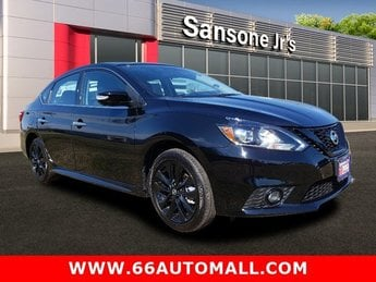 2018 Super Black Nissan Sentra SR Automatic (CVT) 4 Door Sedan FWD