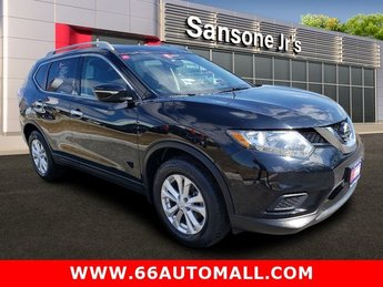 2015 Super Black Nissan Rogue SV Automatic (CVT) AWD SUV Regular Unleaded I-4 2.5 L/152 Engine 4 Door